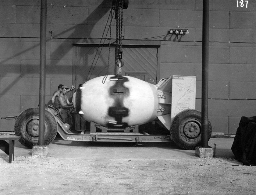 fatman a bomb hiroshima