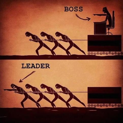 boss or leader
