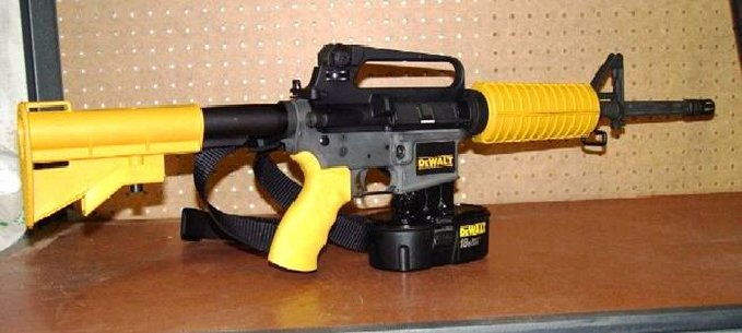 Case Design best glue for phone cases : New DeWalt Combo Air Nailer/Assault Rifle : Delusions of Adequacy