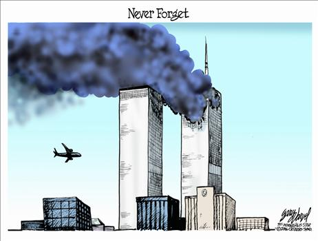 9-11 cartoon