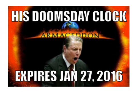 al gore doomsday clock