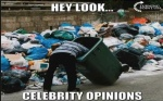 celebrity opinions