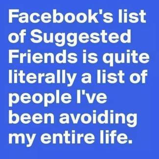 facebook avoid