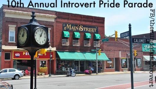 introvert pride parade