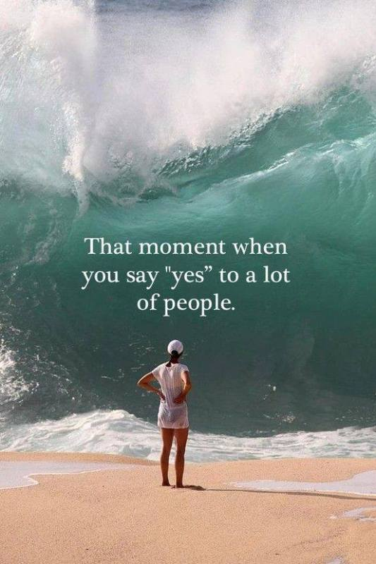 introvert saying yes